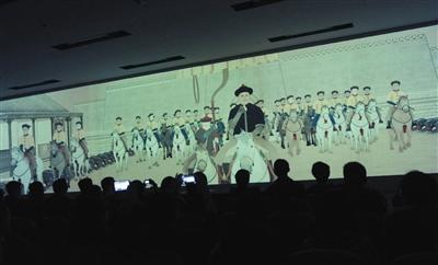 《乾隆南巡图》动画版国博将播 每天播四场(图)